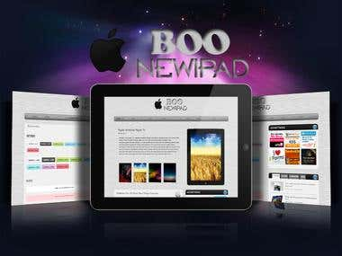 Boo NewIpad - Premium Magazine Wordpress Themes