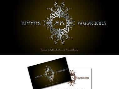 Kiyya's Kreations Branding