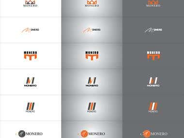 10-15 variation one logo design