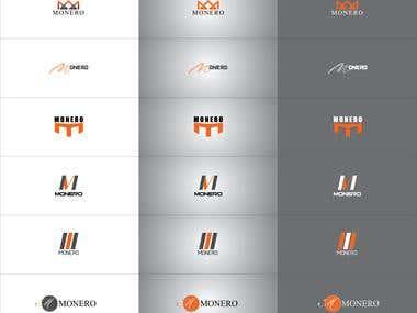 10-15 variation one logo design
