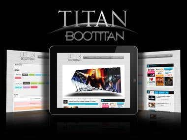 Boo TiTan - Premium Magazine Wordpress Themes