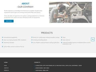Rushi Engineers - Website