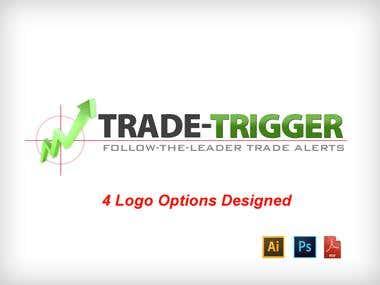 4 Logo Options - Trade Trigger