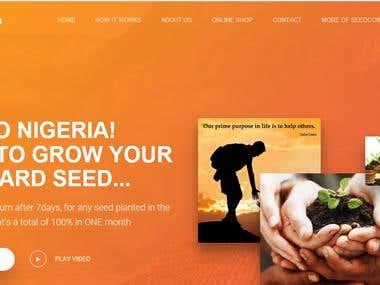 Voluntary Donation WebSite + Dashboard + Seedcoin-ng.com