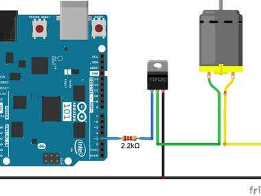Arduino - DC Motor Control for Electronic Screw Driver