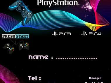 play station form