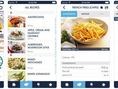 Mobile App(Ionicframework)