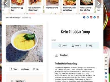 Blog Article - The Keto Cookbook.