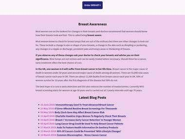 Wordpress Website Breast-1