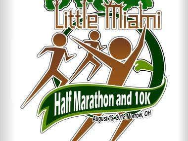 Logo Franela Maraton