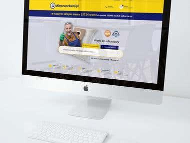 Web design/projekt strony