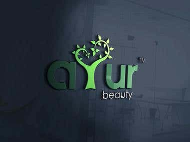 Logo design for ayur