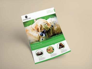 Pet Flyer design