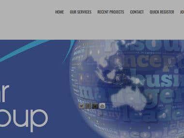 WordPress Mockup