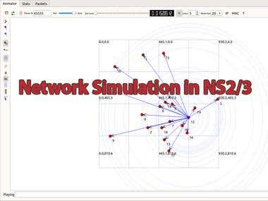 Network Simulation in NS 2/3