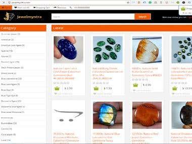 E-commerce website for online business