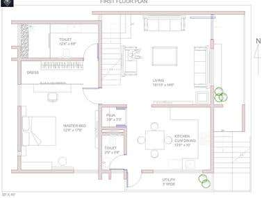 Small house Auto Cad Drawings 2