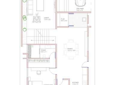 Small house Auto Cad Drawings 3
