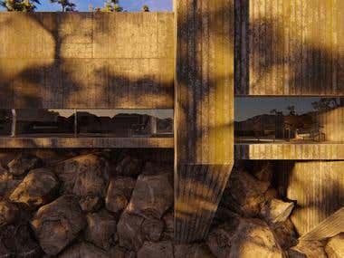 Modern Brutalist House #2