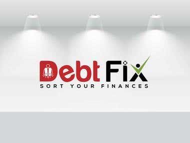Winning logo debtfix