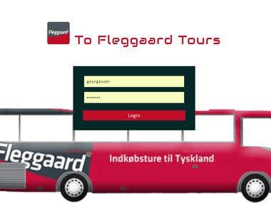 Fleggaard Tours Booking System
