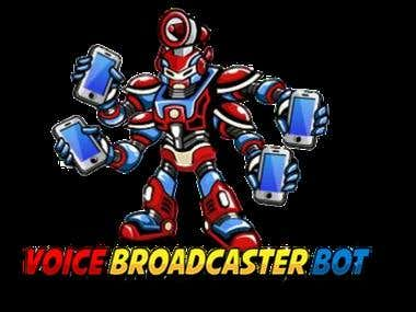 Windows Form C++ Voice Broadcaster BOT