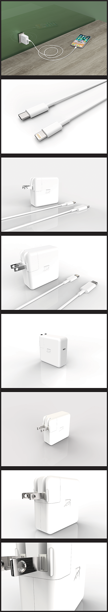 3d Renderings - Charger