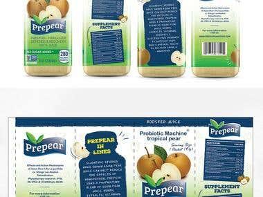 Label and logo design
