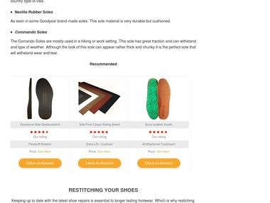 Shoe Repair Guide