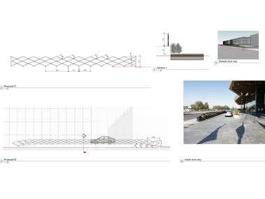 Fence Shop drawing using Revit