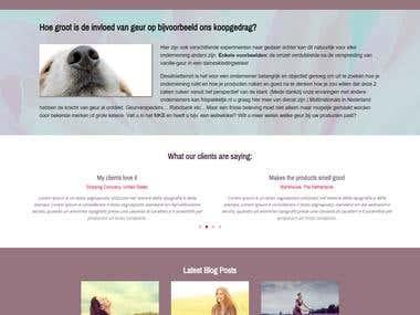 Full Wordpress Website