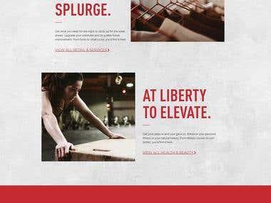 Liberty Marketing Website