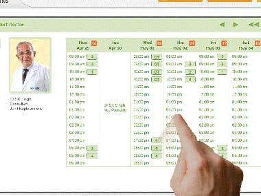 Appointment system for doctors