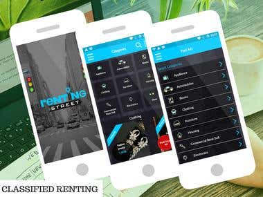 CLASSIFIED RENTING APPLICATION
