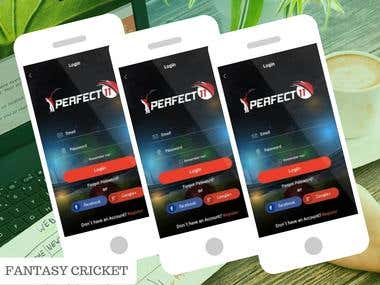 FANTASY CRICKET APP & WEBSITE