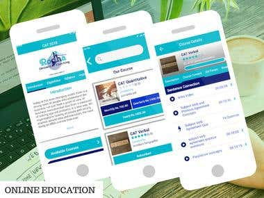 ONLINE EDUCATION APP