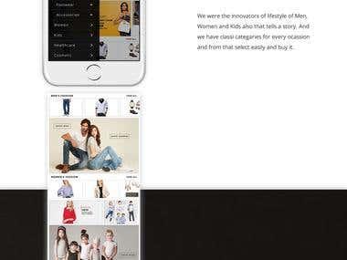 Fashion App Screen Design