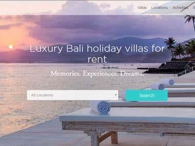 Villas MVH Website