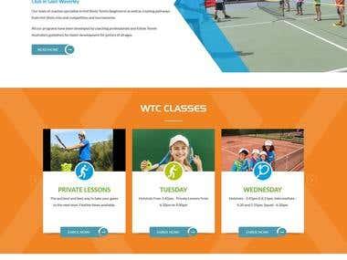 http://www.waverleytenniscoaching.com.au - Wordpress