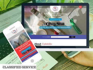 CLASSIFIED SERVICE WEBSITE