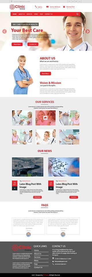 Clinic Online Website Development