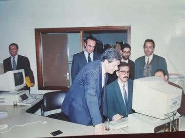 Foto en la Agencia de noticias marroquí MAGHREB ARABE PRESSE