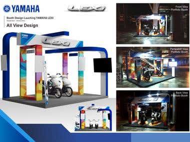 Design Booth YAMAHA