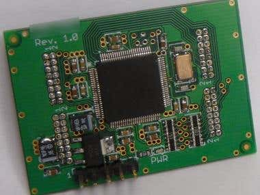 Small Custom CPU PCB