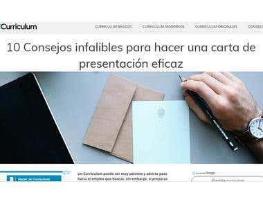 Artículo web