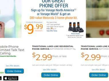 VSN Voicestreamnetworks - Website design