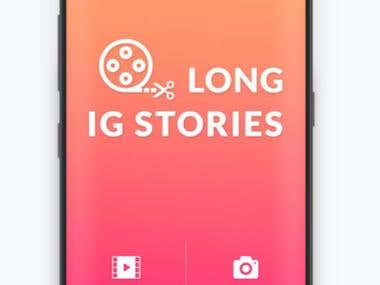Long IG stories Android app