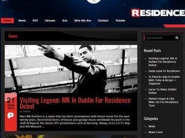 Residence - Website