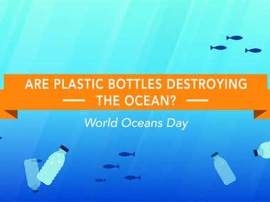 Ocean Plastics Infographic