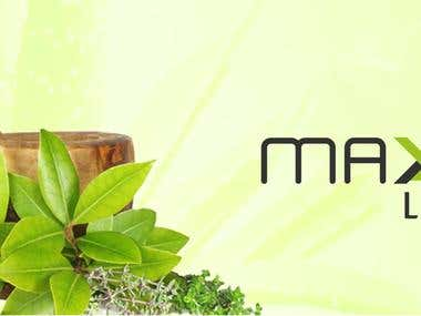 Maxenlifecare webisite project